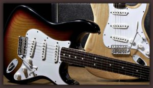 background-fender-electric-guitars